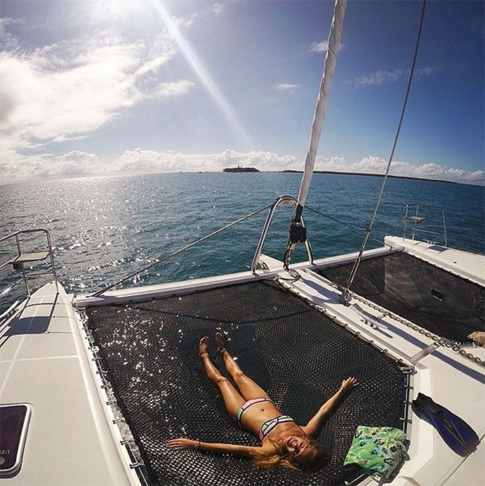 Nothing says 'I've visited the Great Barrier Reef' like the #imonaboat shot! #thisisqueensland