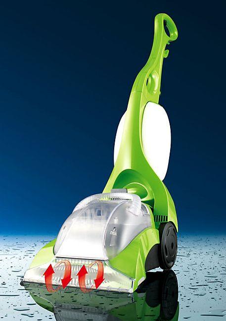Clean Maxx Teppichreiniger - macht Teppiche reinigen so einfach wie Staubsaugen! Bei Weltbild für nur 129,99€!  #cleanmaxx #teppichreiniger #professional #limegreen #weltbild