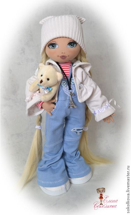 Collectible handmade dolls. Fair Masters - handmade Anastasia. Handmade.