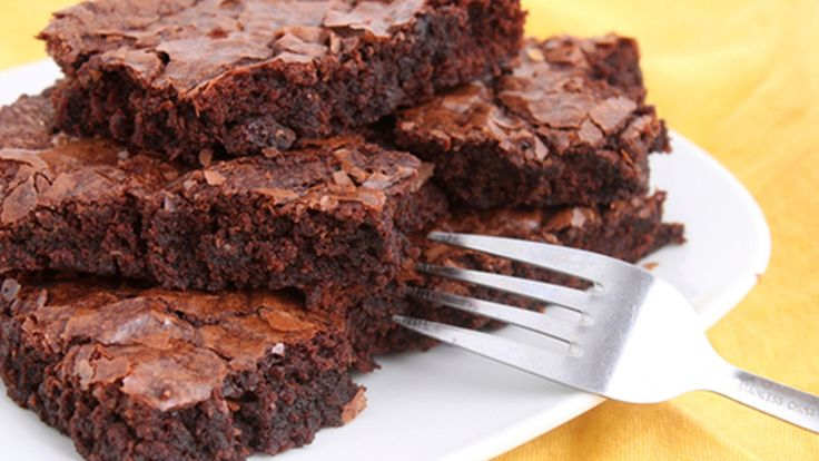 This recipe makes beautiful, dense and fudgy brownies - just the way I like them. It's a very simple recipe that you can make in minutes. Just make sure you make enough to share around!