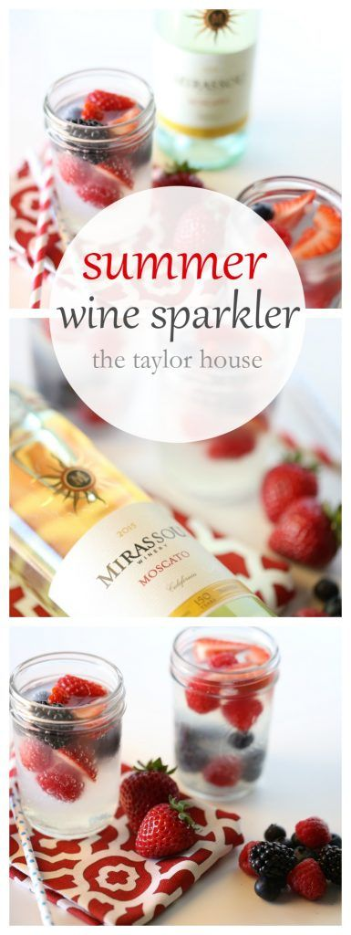Summer Wine Sparkler Cocktail - The Taylor House