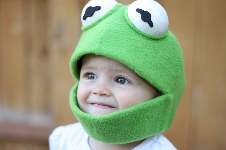 Muppet Kermit Costume Small. $35.00, via Etsy. / I don't think it's possible for me to love this more. (See also the Abby Cadabby option.)