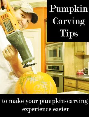 Awesome tips for carving pumpkins from the carving EXPERTS!
