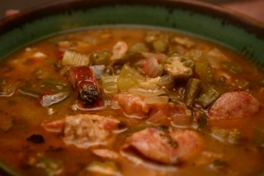 Okra Gumbo With Chicken And Andouille Sausage (1) From: Melissa Ray Davis, please visit