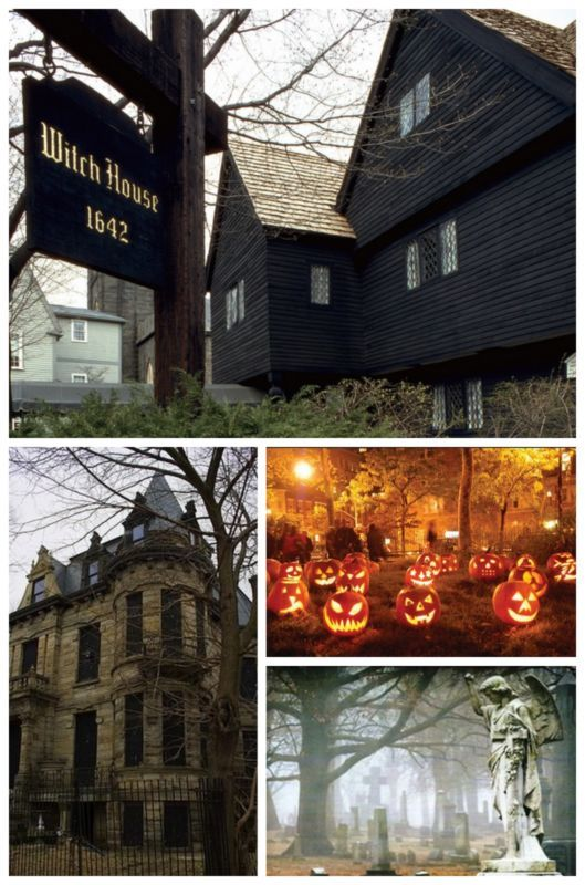 8 Haunted Road Trips That Will Scare Your Pants Off: If you're looking for a spook today, we've got just the thing! #Salem #Halloween