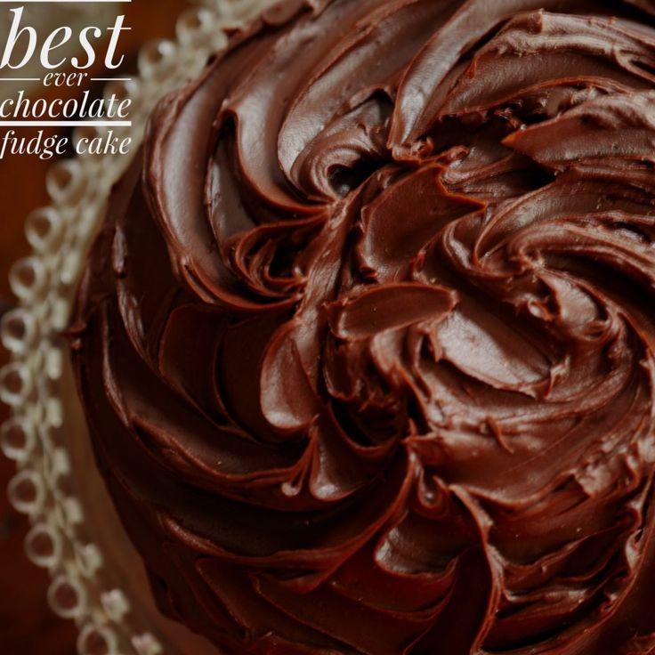 chocolate fudge cake…your new best friend