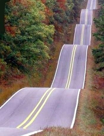 Roller Coaster Highway, Tulsa, Oklahoma. Took this every year going to pow wows with the fam