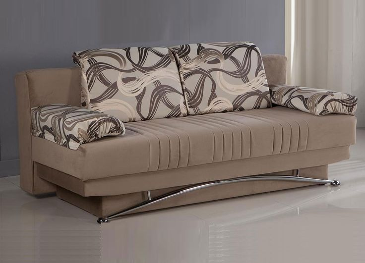 Attirant Sofa: The Exciting Sofa Bed Cream Color Ideas Cushions Silver Wall Design  Of Decorating Queen Size Sofa Bed In Modern Style