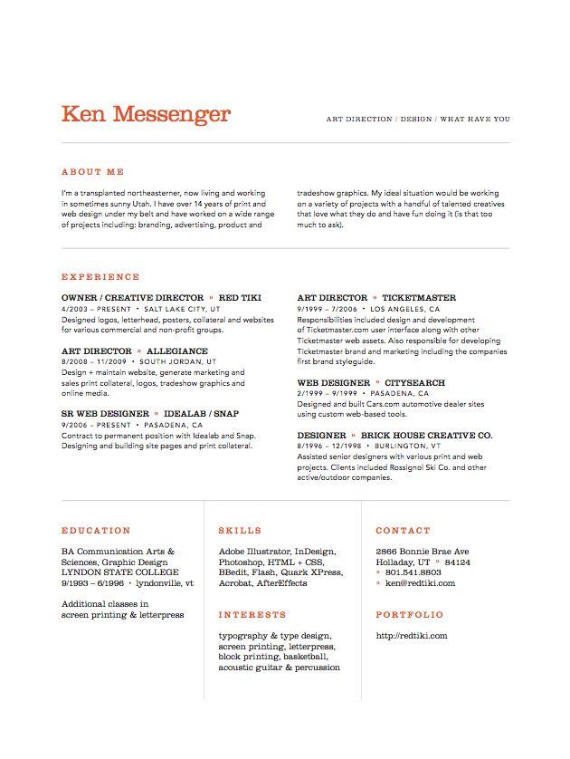 Ken Messenger, art director
