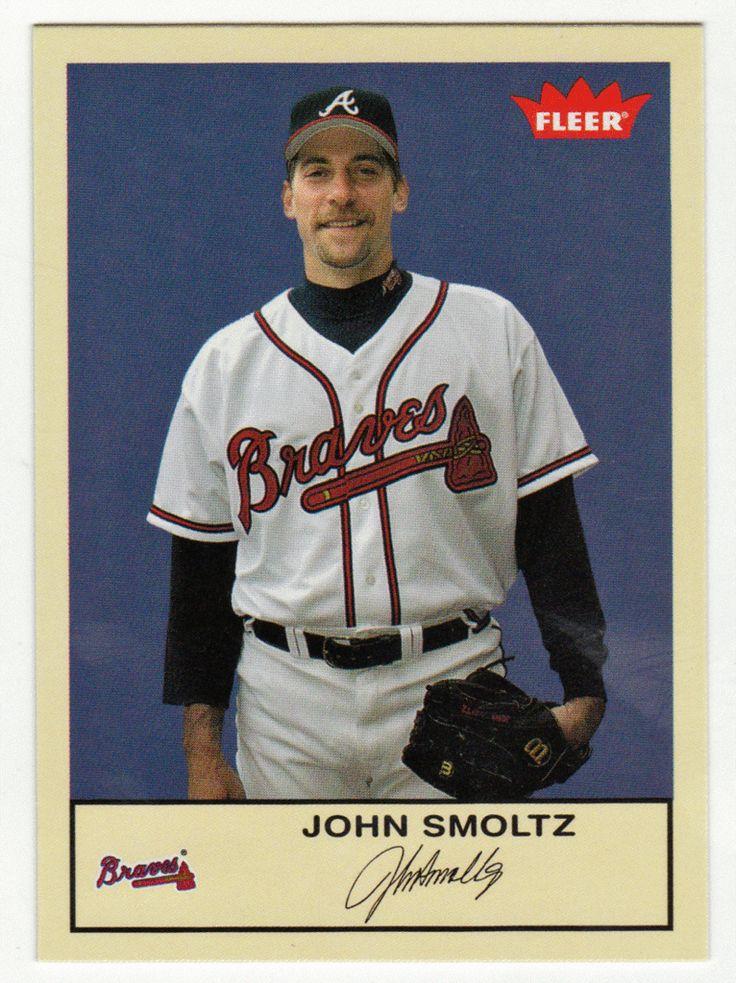 John Smoltz # 135 - 2005 Fleer Tradition Baseball