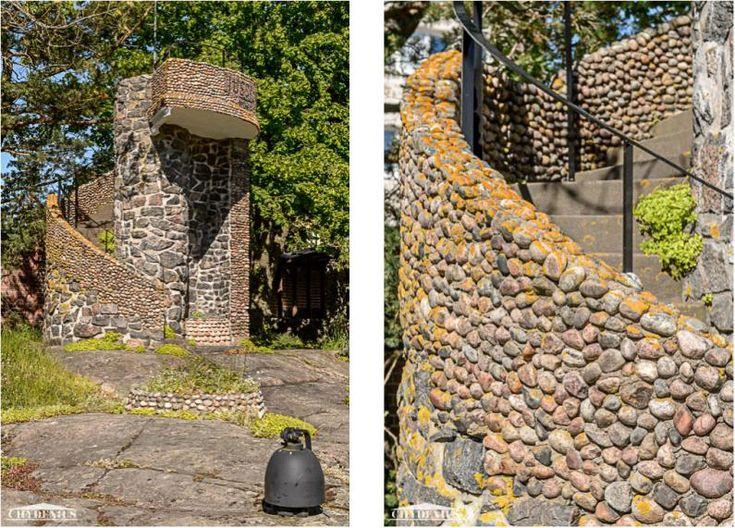 Löysimme yhden ainoan löystyneen kiven satavuotiaasta Jussilasta