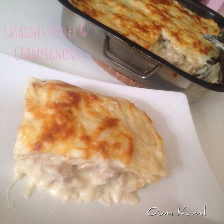 Lasagnes poulet et champignons 100% HomeMade