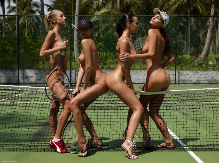 With you Tennis hot chicks nude curious