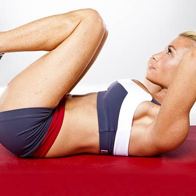 Score gorgeous abs fast with this fat-blasting core workout from Tracy Anderson.   Health.com