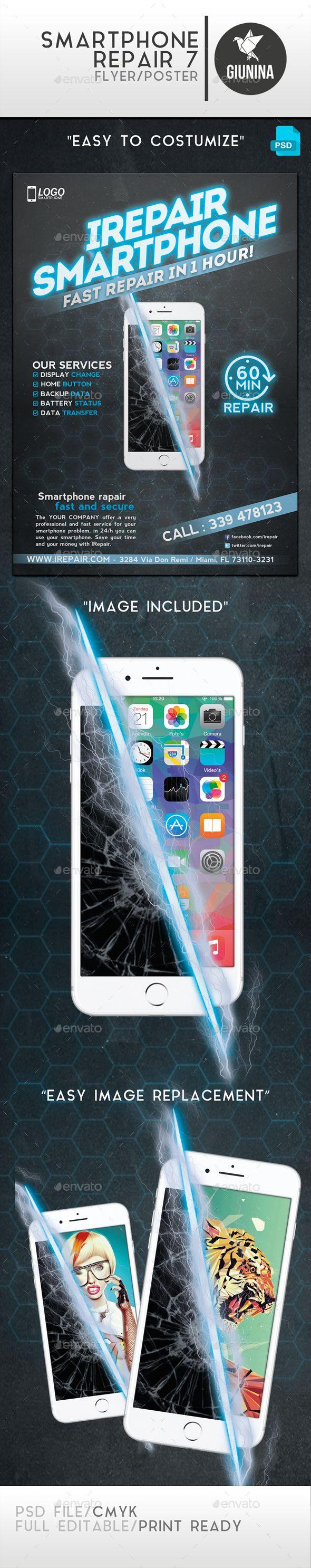 Smartphone Repair 7 Flyer/Poster