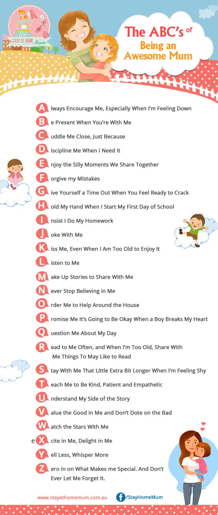 ABCs of being a good mom