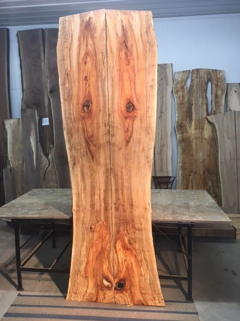 Spalted Maple lumber for sale at Ohio Woodlands. Maple wood slabs for sale. Ohio Woodlands live edge maple lumber. Jared Coldwell spalted