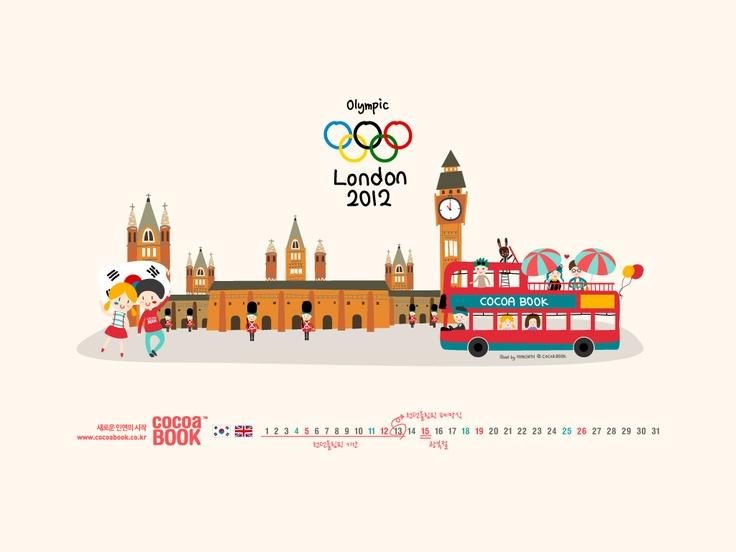 2012 런던 올림픽 코코아북 응원가다!