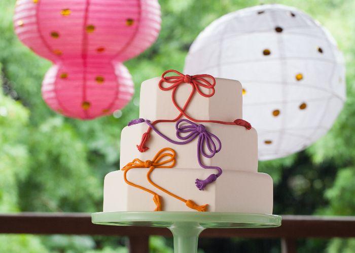 日本風結婚式にオススメ♩《和》デザインが可愛いウェディングケーキ10選*のトップ画像