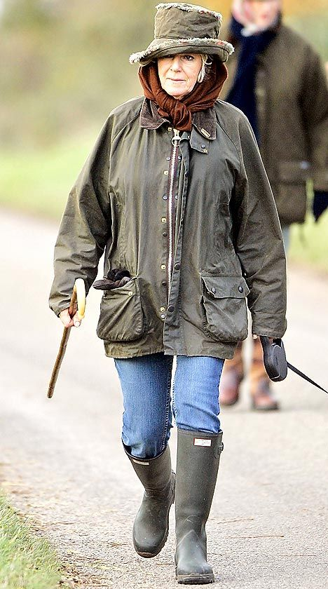 17 Best Images About Celebrities Wearing Barbour On