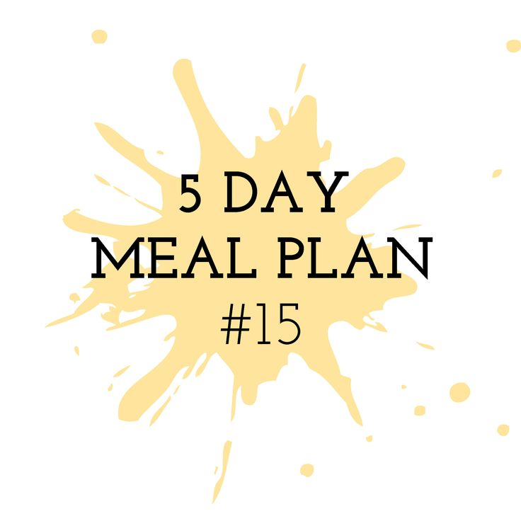 5 Day Meal Plan #15 - Cooking in the Chaos Thermomix Recipes