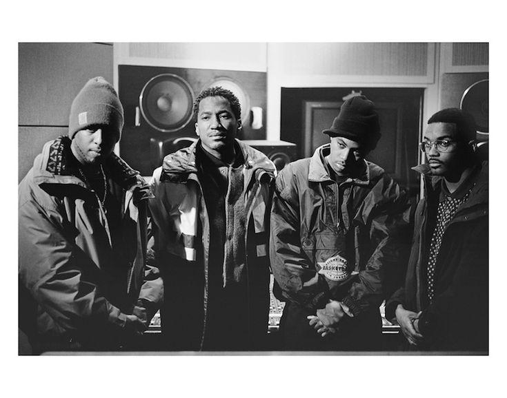 Nas, DJ Premier, Large Professor, and Q-Tip
