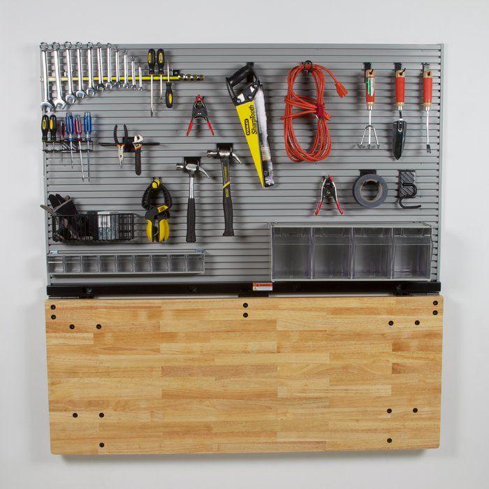 "Standard 60""W Wood Top Workbench"