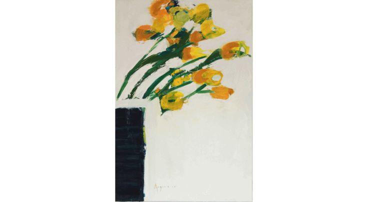 Bez tytułu, 73 x 50 cm, olej na płótnie, 3500 zł