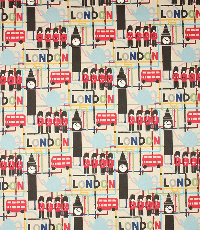 London Fabric / Multi