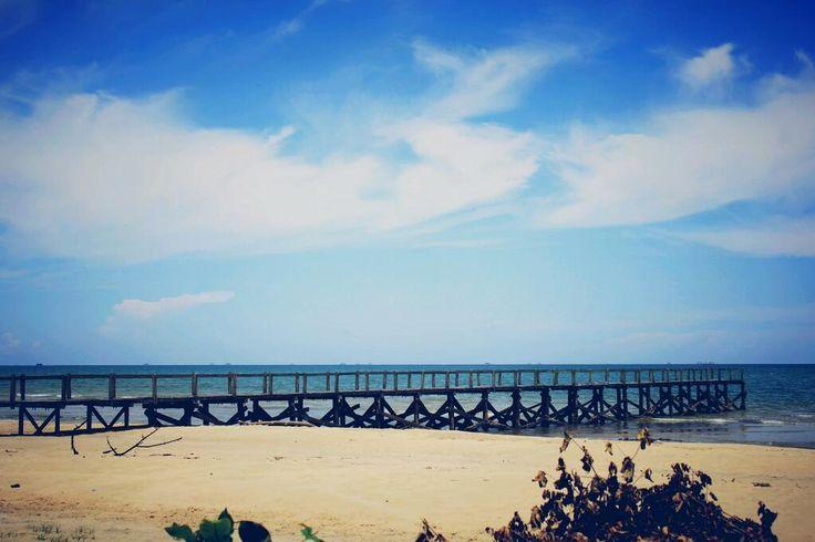 Pantai Angsana Tempat Wisata Eksotis di Kalimantan Selatan - Kalimantan Selatan