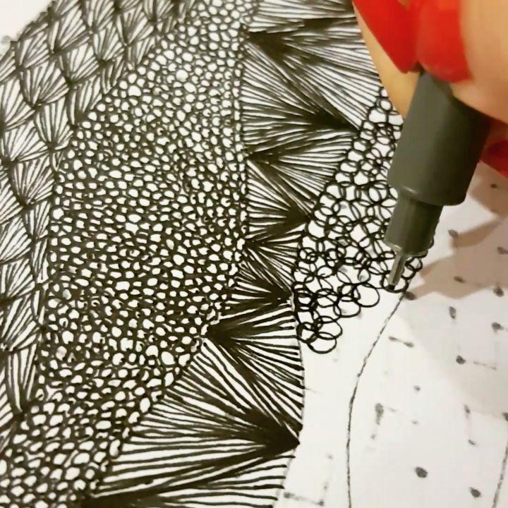 Video on my instagram @_barboring #video #videoart #drawing #illustration #pattern #patterndesign