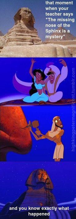 Disney Movies, teaching us untold history.