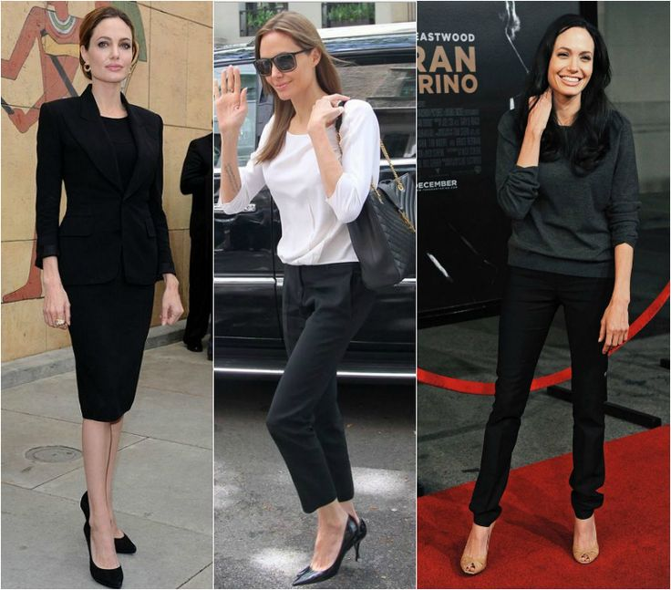 Angelina Jolie dress code