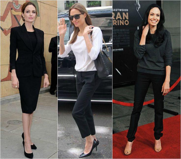Angelina Jolie dress code