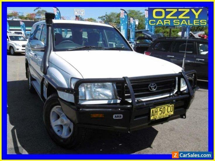 2000 Toyota Landcruiser HZJ105R GXL (4x4) White Automatic 4sp A Wagon #toyota #landcruiser #forsale #australia