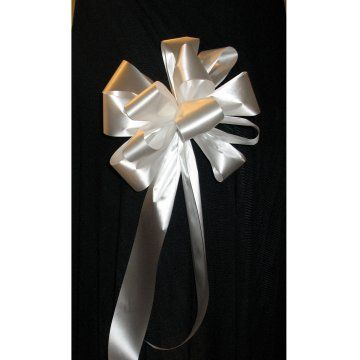 Satin Pew Bows Step By Photo Tutorial Plus A List Of The Supplies You Need Learn How To Make Bridal Bouquets Corsages Boutonnieres
