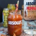 Absolut Peppar Vodka Zing Zang Bloody Mary recipe