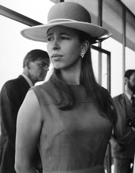 Royal Watcher:  Princess Anne during a state visit to Norway in 1971