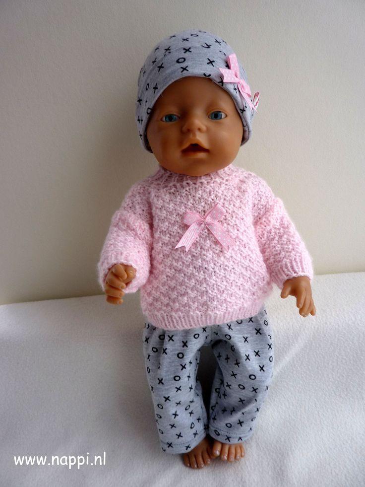 Winterkleding / Baby Born 43 cm | Nappi.nl