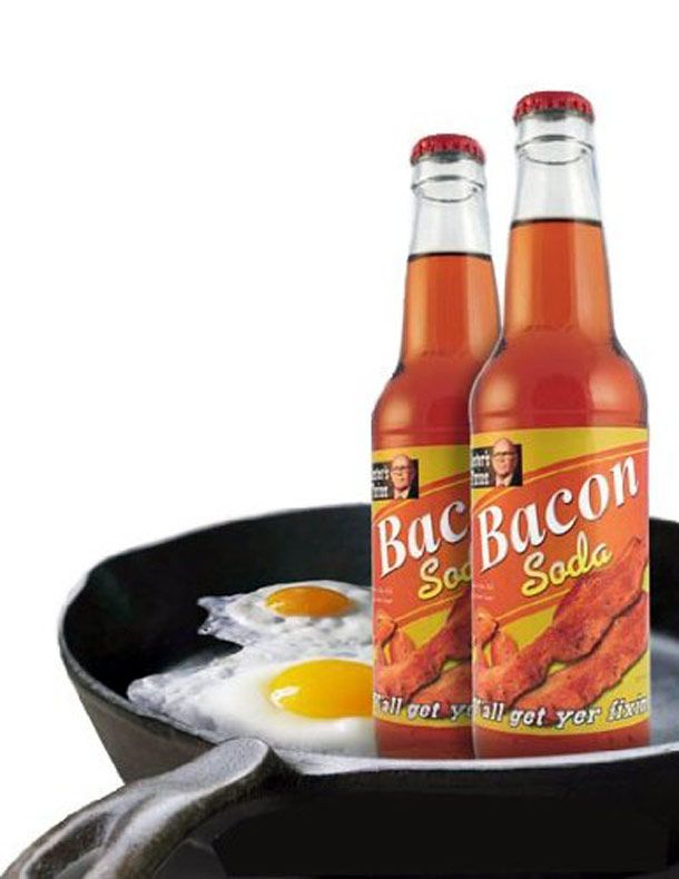 WTF of the day - Bacon Soda
