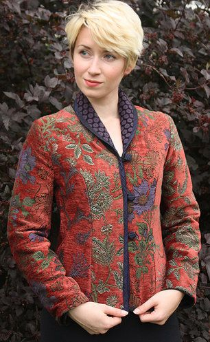 Mary Lynn O'Shea: Designer | Weaver | Stratton Jacket