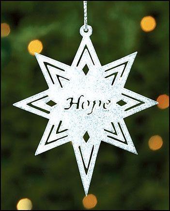 Hope Bethlehem Star Ornament