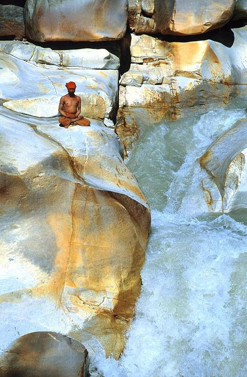 Gangotri falls , India, from Iryna