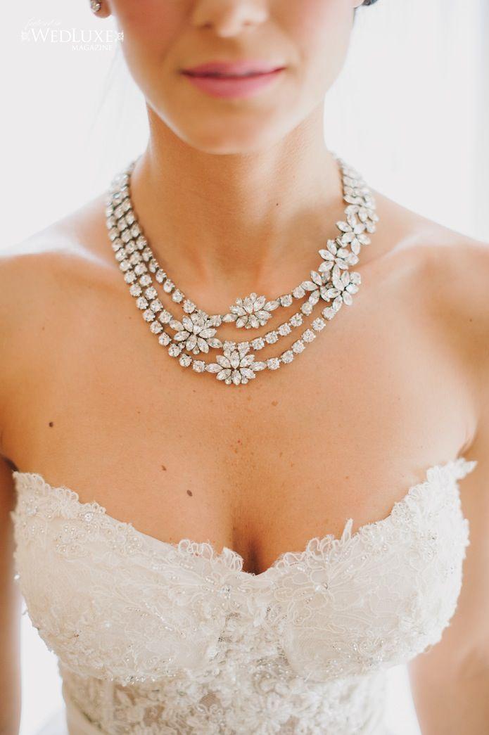 Luxury Wedding Jewellery by Elsa Corsi seen in Wedluxe Magazine - planner Rachel A. Clingen