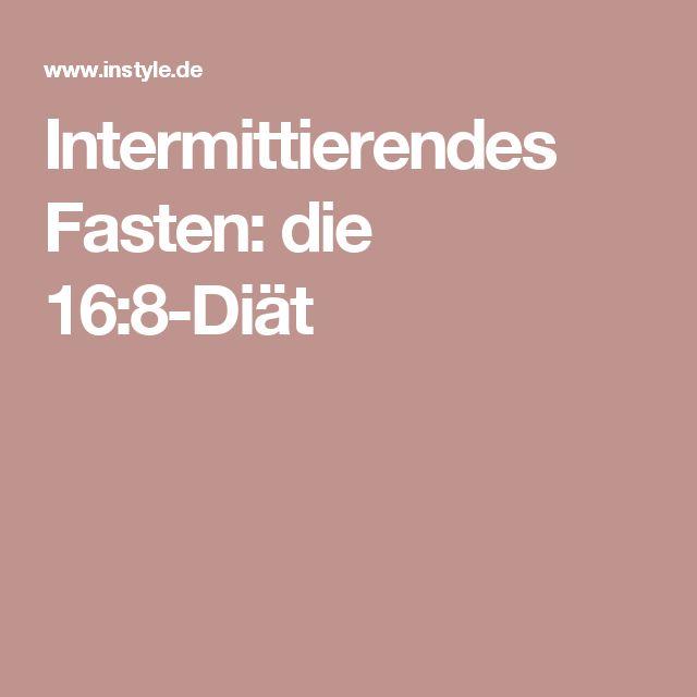 Intermittierendes Fasten: die 16:8-Diät