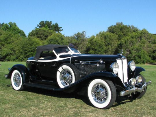1933 Auburn 12-161A V-12 Speedster