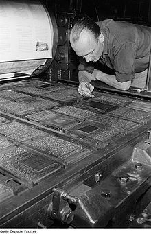 Letterpress printing - Wikipedia, the free encyclopedia