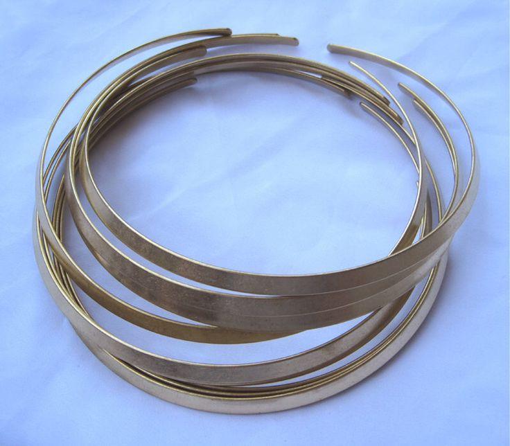 1 Stück Halsband Choker offen Halskette ROH-Messing für Unisex Erwachsene einfache Stil t052 von tsrose auf Etsy https://www.etsy.com/de/listing/236118889/1-stuck-halsband-choker-offen-halskette