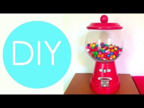 Dispensadores de caramelos DIY: Un regalo muy dulce   Aprender manualidades es facilisimo.com
