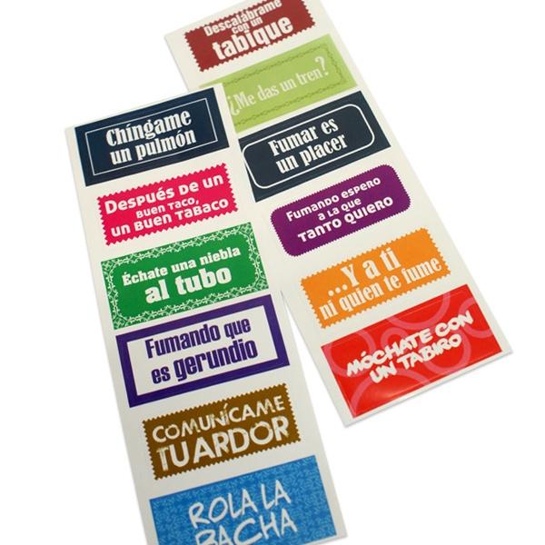 Tapaculpas (stickers)